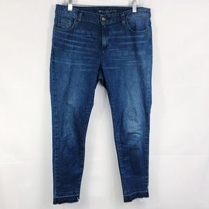 Michael Kors | Izzy Skinny Released Hem Jeans